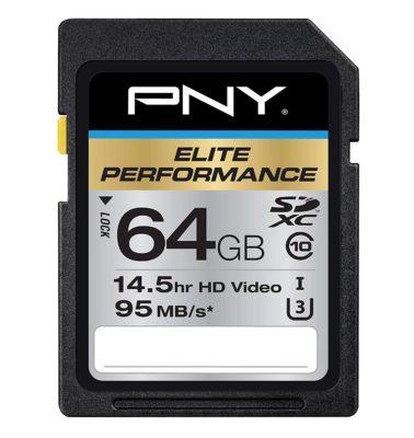 PNY Elite Performance SDXC