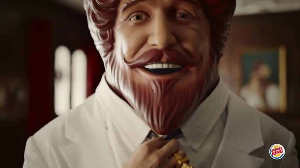 The King of Burger King a.k.a. The Creepy King - Branding Mistakes (courtesy of The Drum)