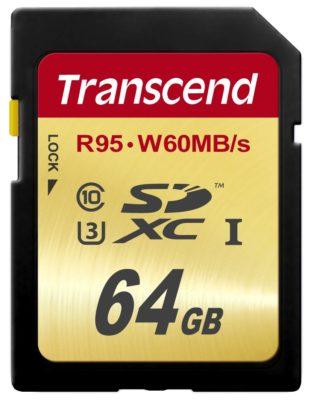 Transcend SDXC UHS-II U3