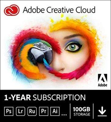 Adobe Creative Cloud Subscription