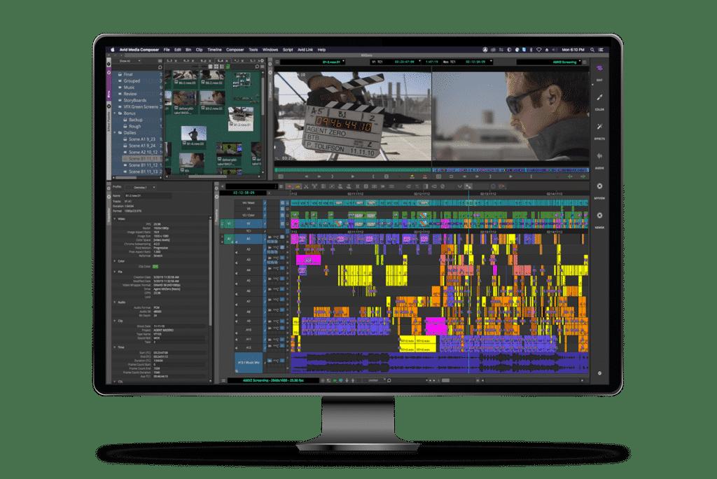 Avid Media Composer - Best Video Editing Software for Content Creators