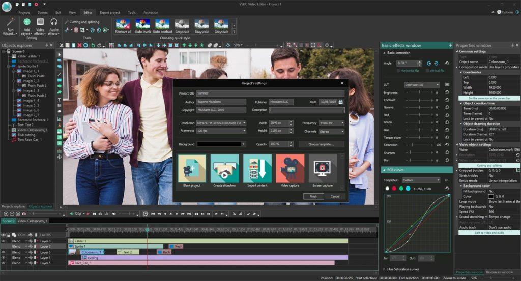 VSDC - Best Video Editing Software for Content Creators