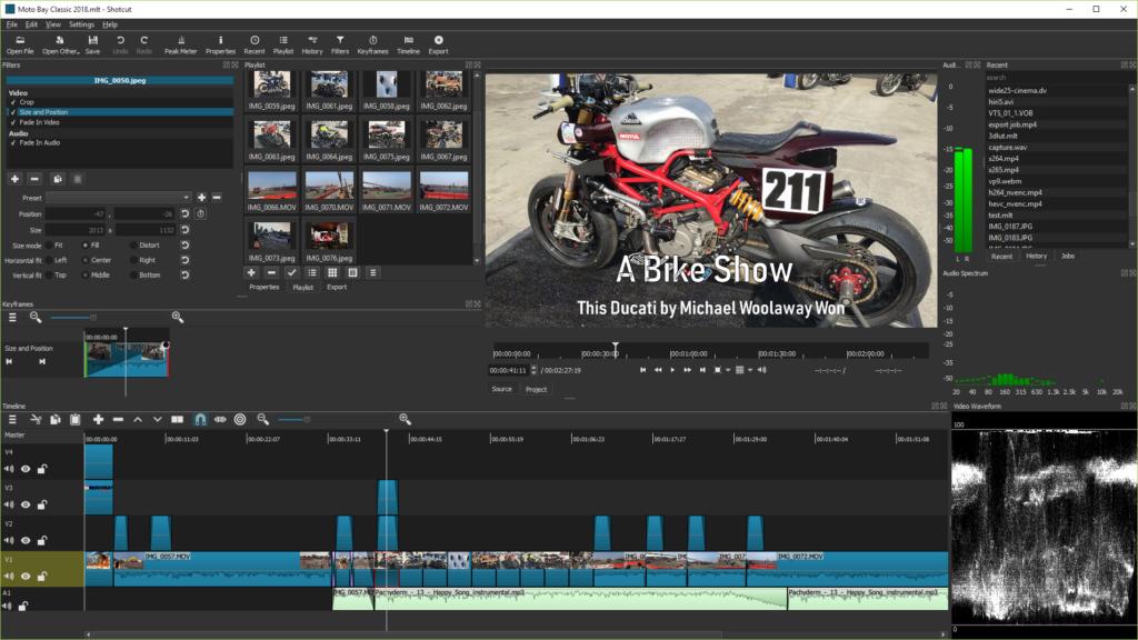 Shotcut - Best Video Editing Software for Content Creators