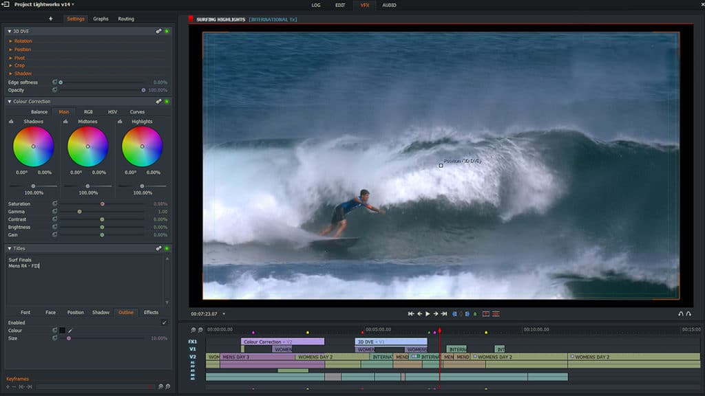 Lightworks - Best Video Editing Software for Content Creators