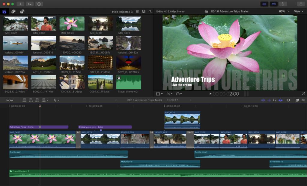 Final Cut Pro X - Best Video Editing Software for Content Creators