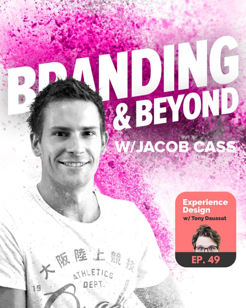 Beyond Branding Podcast with Jacob Cass on XDPodcast
