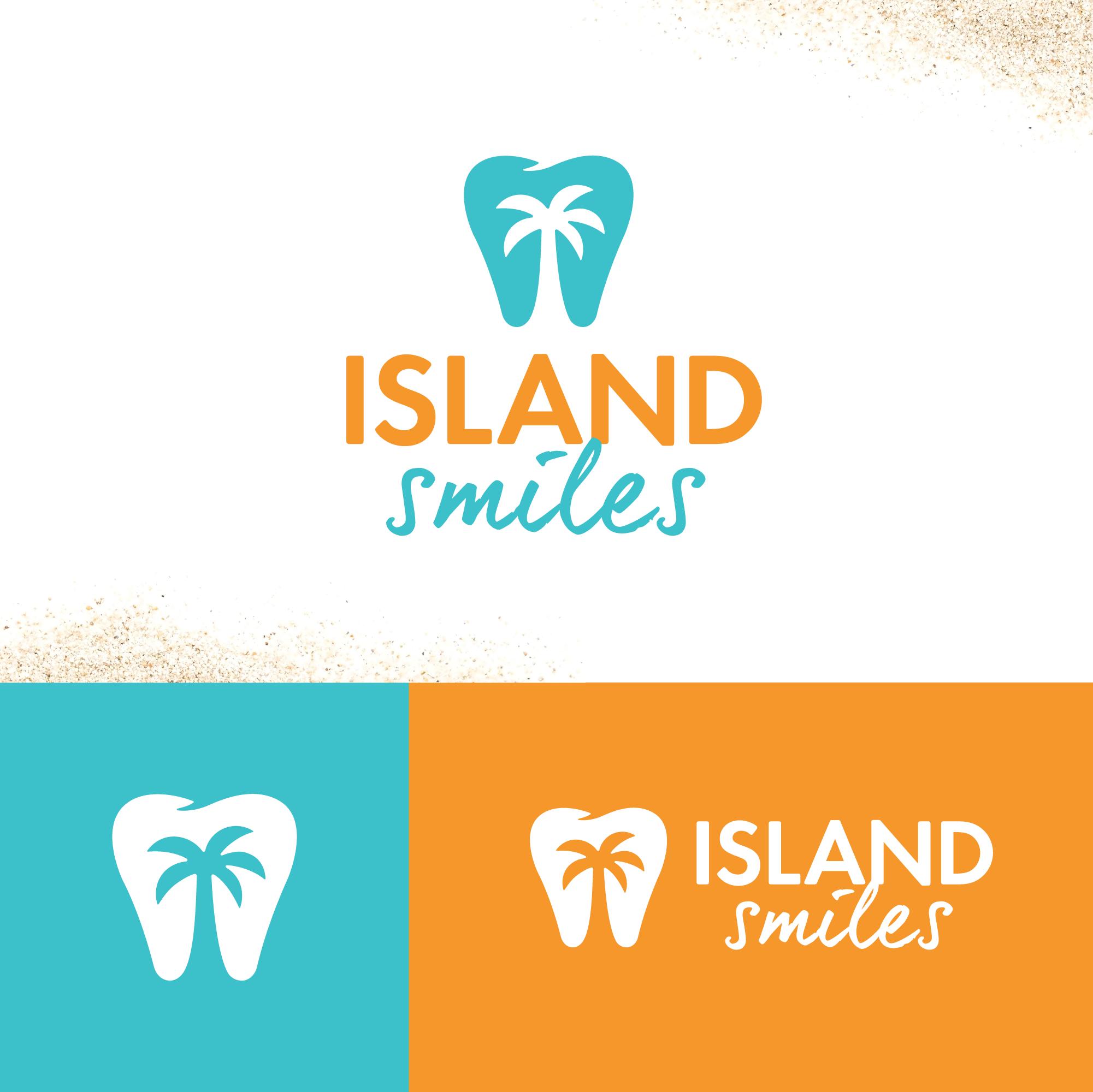 Island Smiles Dentist Brand Identity