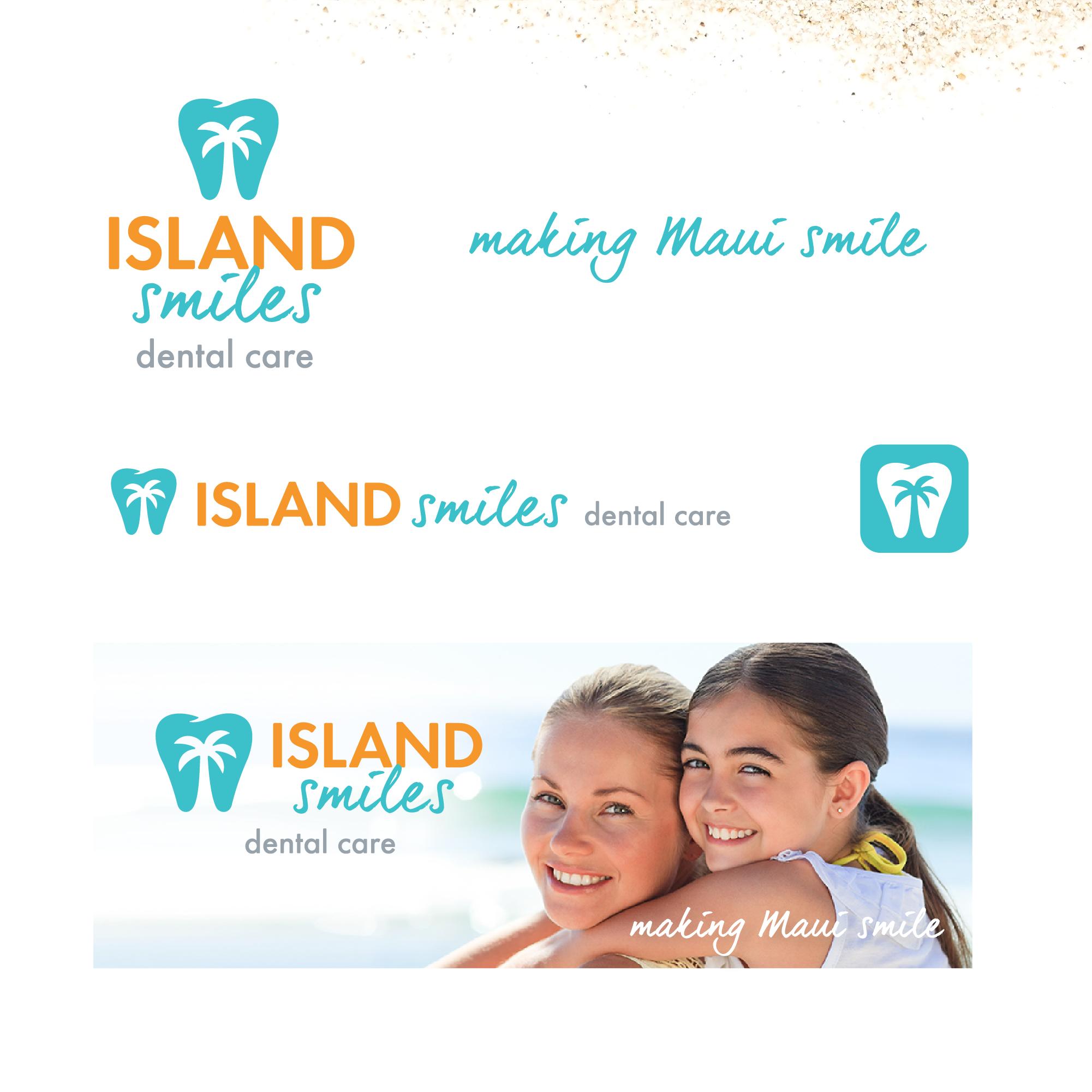 Logo Variations Island Smiles
