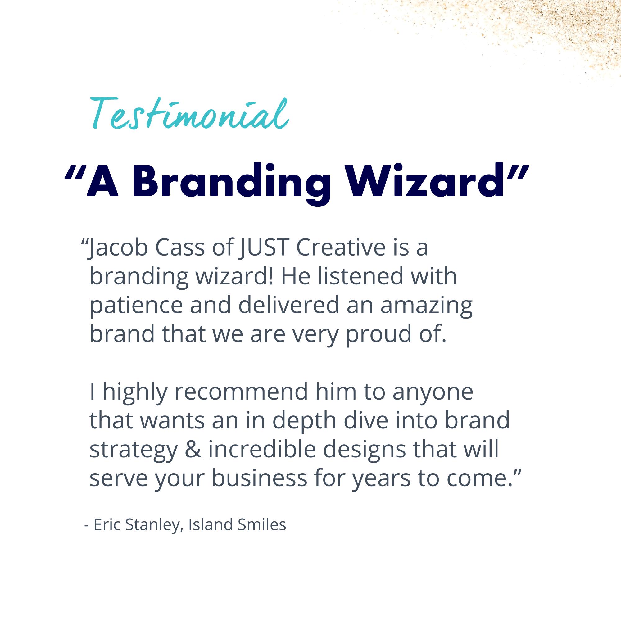 Testimonial for Branding
