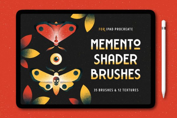 Memento Shader Brushes For Procreate