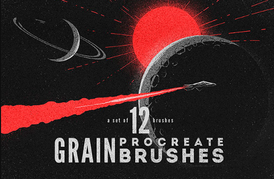 Procreate Grain Brushes