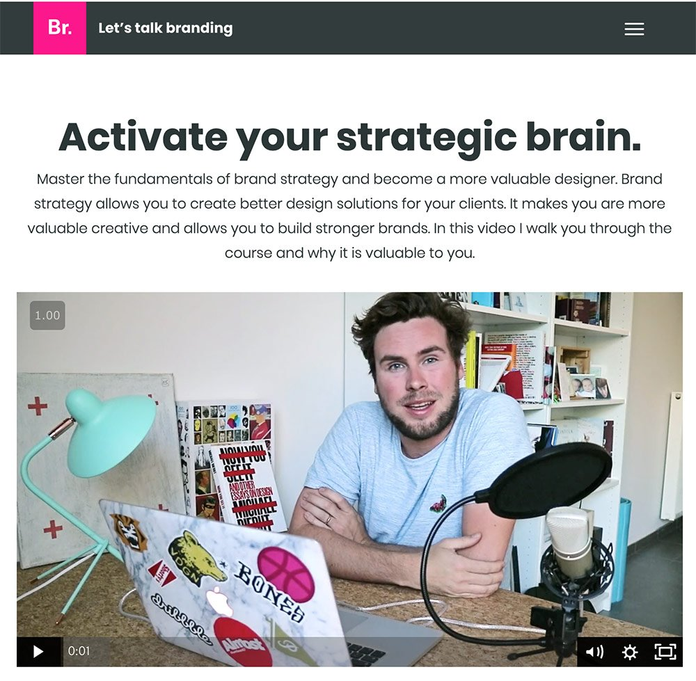 Activate Your Strategic Brain Brand Strategy Course