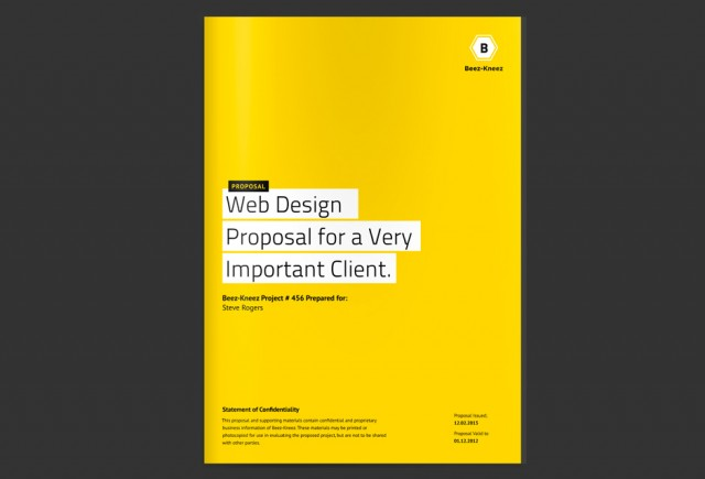 Superior Cover Page And Proposal Cover Page Design