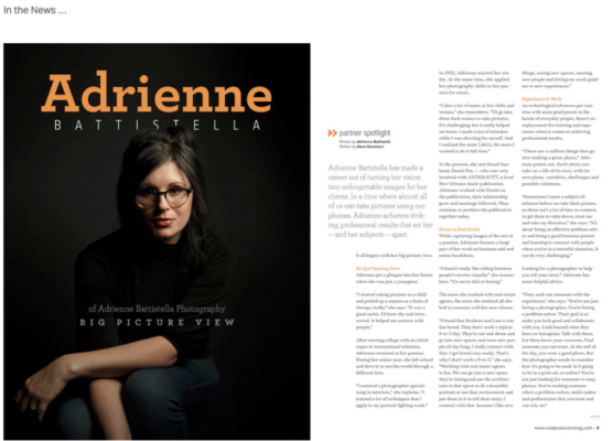 Adrienne Battistella Website, Media Mentions - Build Your Personal Brand as a Freelancer