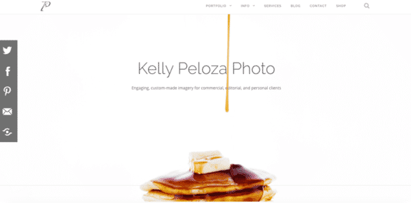 Kelly Peloza Photo Website - Lindsay Potrue's About section on LinkedIn - Build Your Personal Brand as a Freelancer