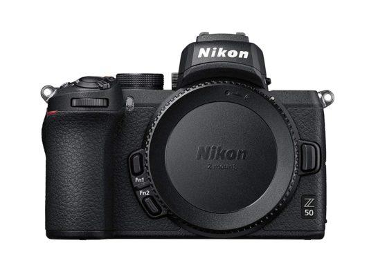 Mejores cámaras para diseñadores gráficos y creativos - Nikon Z50