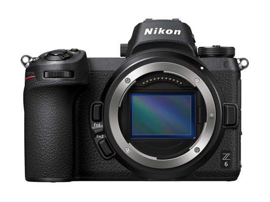 Mejores cámaras para diseñadores gráficos y creativos - Nikon Z6