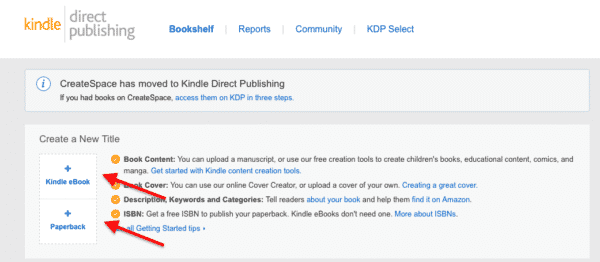 Kindle Direct Punlishing screenshot -- 11 Ways to Make Money Online