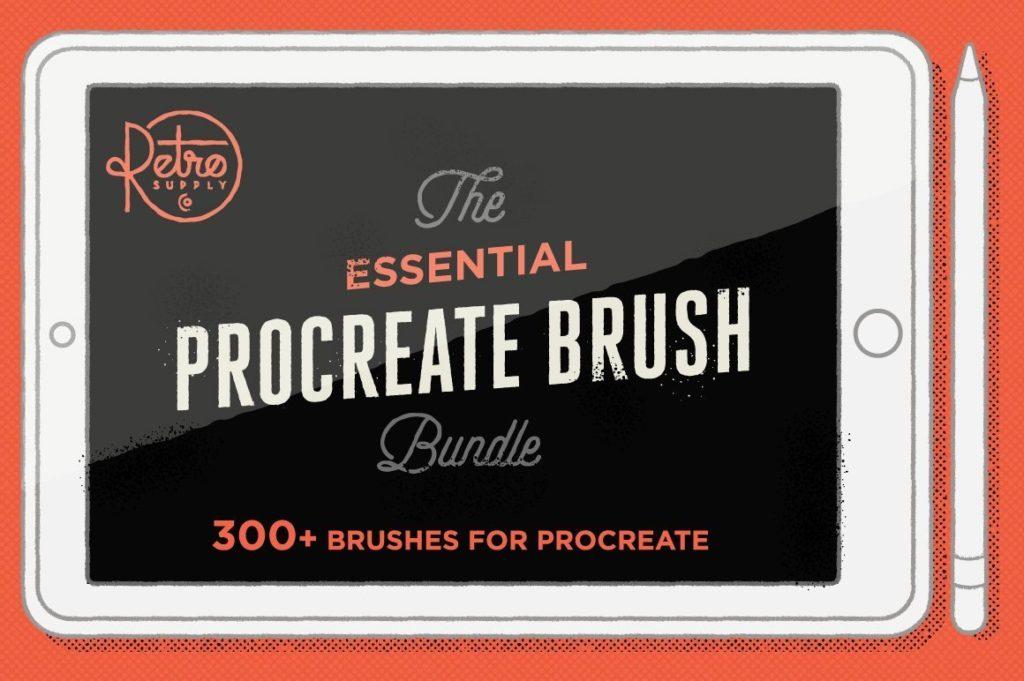 Essential procreate brush bundle