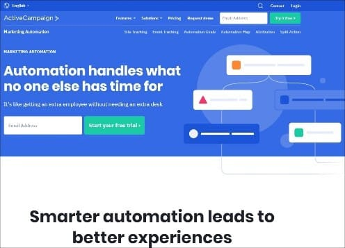 ActiveCampaign Marketing Automation - 10 Most Useful Online Marketing Tools