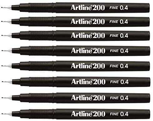 Artline 0.4 Fineliner Pen