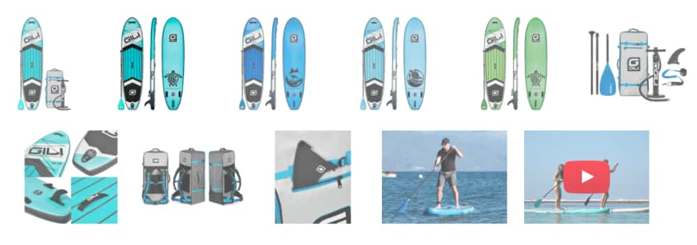 Gili Sports Product Images - Digital Marketing in 2020