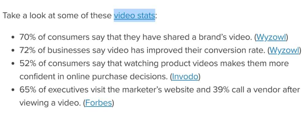 Marketing digitale Statistiche video - Marketing digitale nel 2020