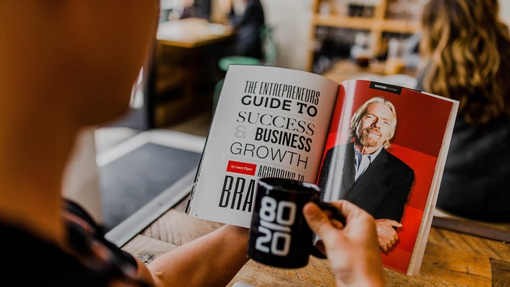 Richard Branson magazine article - Leadership Qualities Valued by Creatives