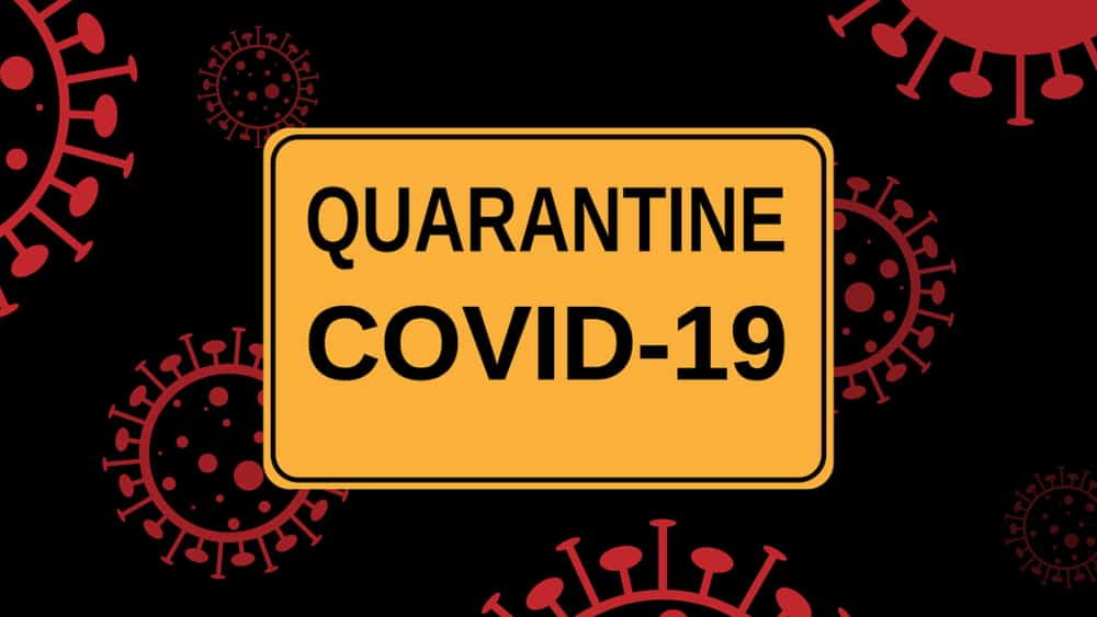 Quarantine COVID-19 Sign - How to Start a Business While Quarantining