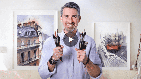 Architectural Sketching with Watercolor and Ink