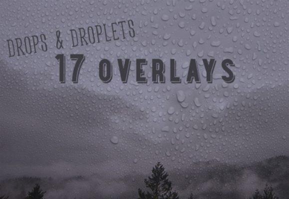 Drops And Droplets Set 1