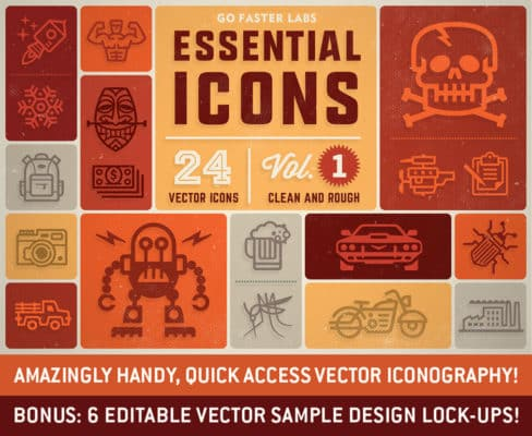 Essential Icons Vol 1