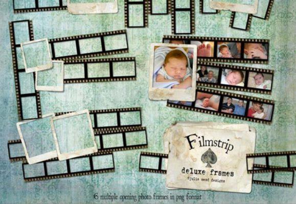 Filmstrip Deluxe Frames