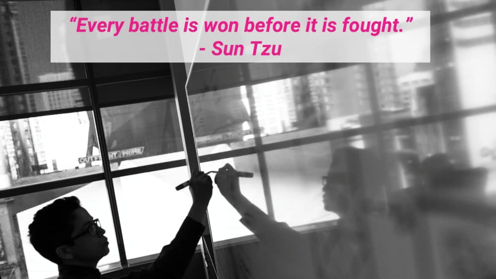 Sun Tzu's tip on planning applies to your UI/UX job search strategy