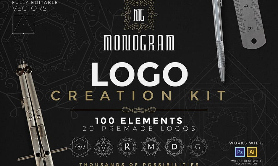 Logo Creation Kit Monogram Edition