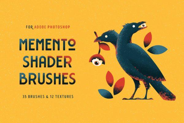 Memento Shader Brushes For Photoshop
