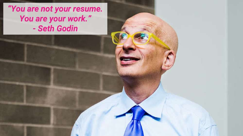 Seth Godin's resume tip applies to your UI/UX job search