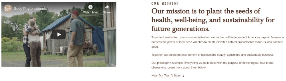 Seed Phytonutrients Mission Statement - How To Build An Online Presence With Sustainability At Its Core