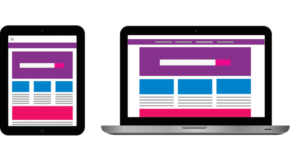 Web design consistent between devices to build customer loyalty