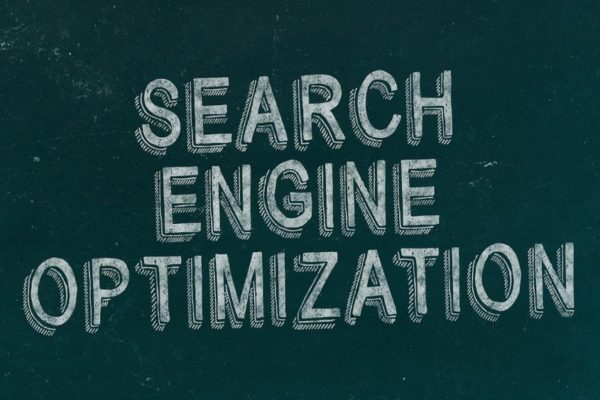 Search Engine Optimisation text on black background - 5 Unarguable Truths About SEO in 2020