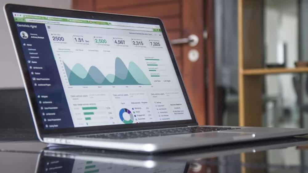 SEO metrics displayed on latop - 5 Ways to Immediately Improve Your Startup's SEO