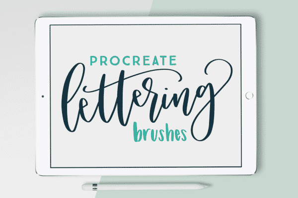 10 Procreate Brushes – The Essential Brush Pack