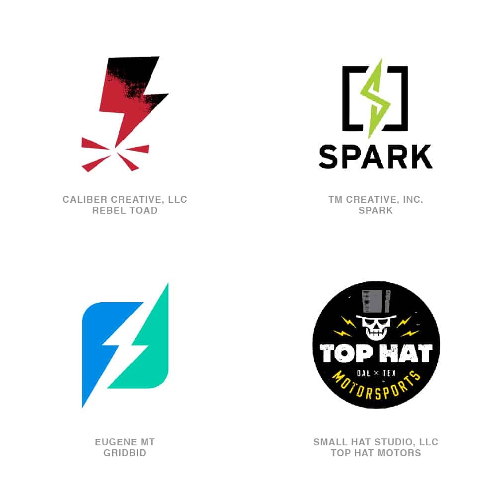 Logo Design Trends 2020 - Bolts