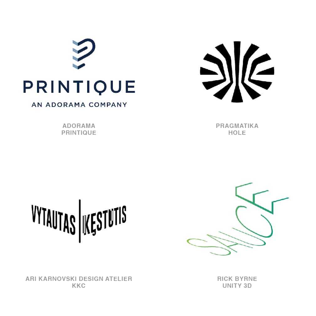 Logo Design Trends 2020 - Cornered