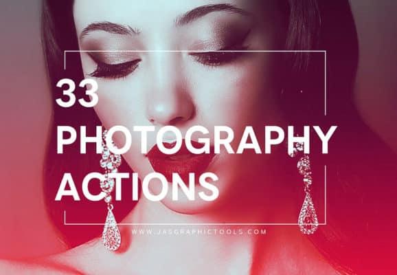 33 Photoshop Lighting Actions