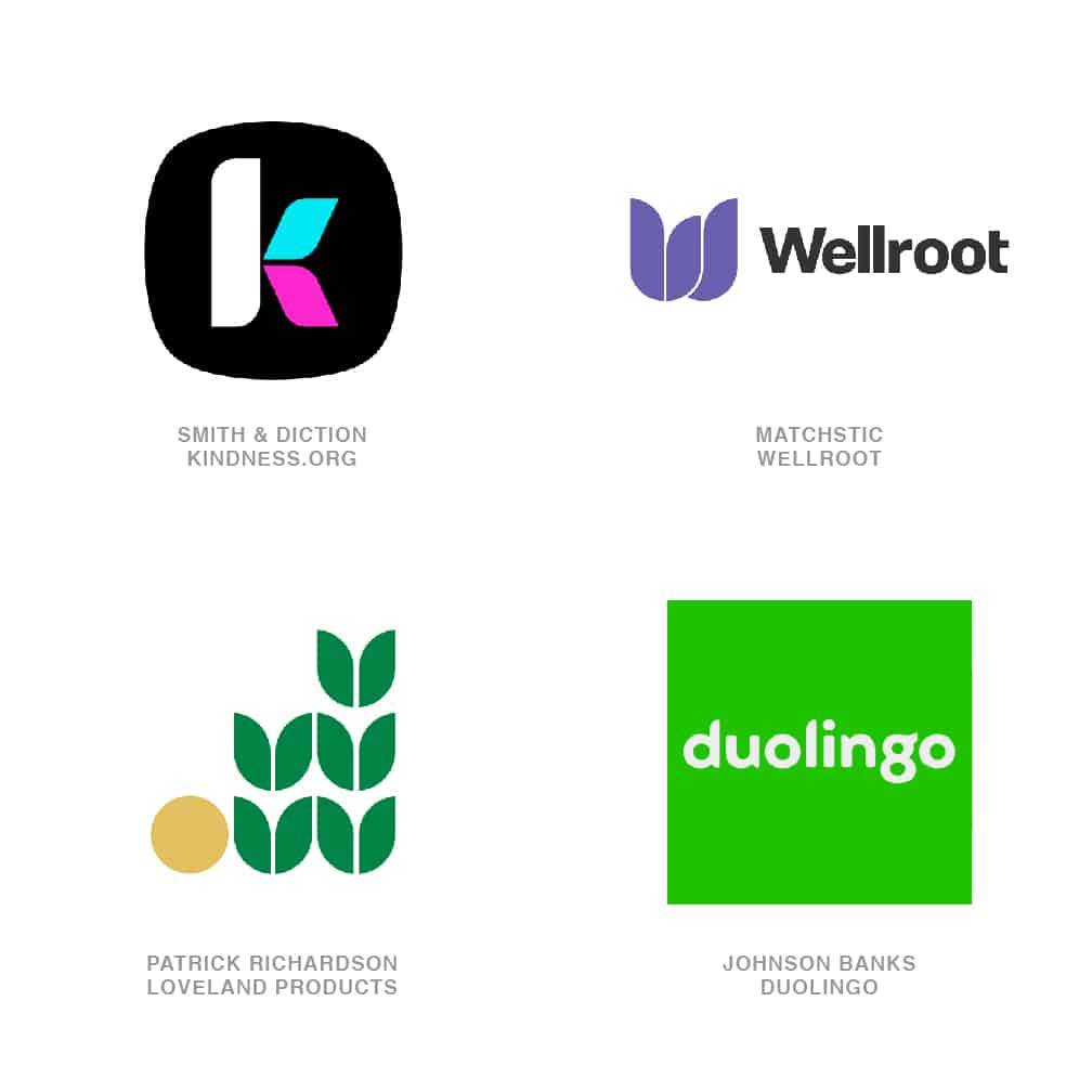 Logo Design Trends 2020 - Bevel Tops