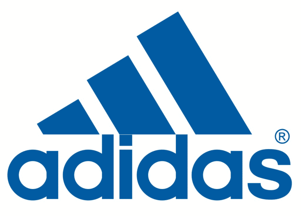 Adidas logo mountain shape represents overcoming challenges