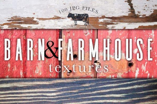 Barn & Farmhouse Wood Textures