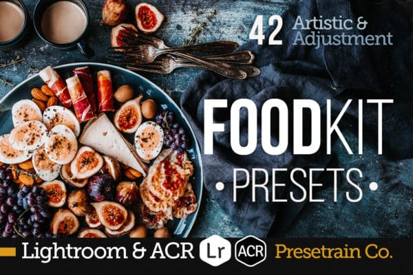 FoodKit – Food Presets For Lightroom & ACR