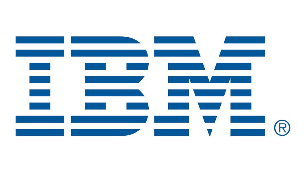 IBM logo redesign represents speed and dynamism